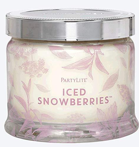 Partylite 3-Docht-Duftwachsglas Eisfrüchte