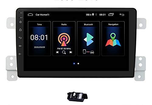 Radio stereo per auto Android 10 adatta per SUZUKI Grand Vitara/Escudo 2005-2015, RAM 2GB + ROM 64GB Supporto navigazione GPS per auto Controllo del volante + Telecamera di backup gratuita
