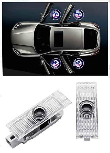 WFB Car Door LED Logo HD Projector Easy Installation Shadow Lights for Alfa Romeo 2Pcs
