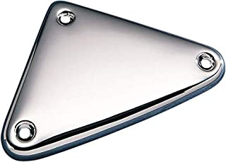Orange Cycle Parts Chrome Ignition Module Side Cover Replaces OEM 66325-82 for Harley 1986-2003 XL Sportster Models