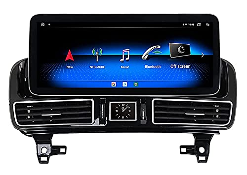 WYZXR GPS Car Stereo Android 10.0 for Mercedes-Benz GLE 2016-2018 GPS Navigation 2 Din Radio 8core 12.3'' Multimedia Player Video Receiver Tracker with 4G WiFi SWC DSP Carplay
