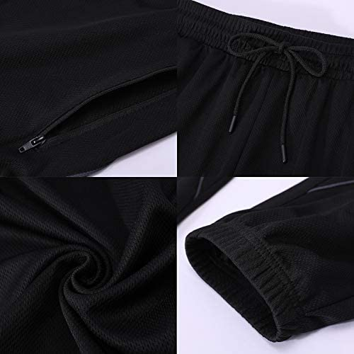urbciety Sweatpants for Men Drawstring Casual Men's Athletic Running Pants Lightweight Breathable