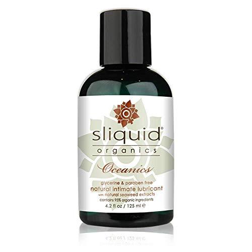Sliquid Organics Lubricant Oceanics with Carrageenan, nori & wakame  - 4.2 oz