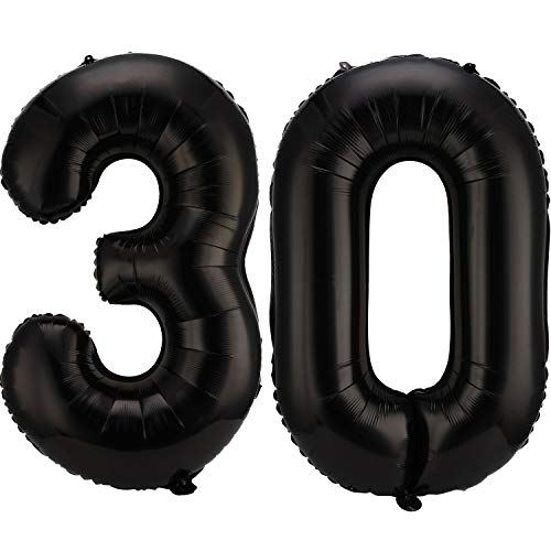 Gejoy 12 Pieces 80s 90s Party Decorations Set Include 10 Pieces 40 Inch Foil Chain Balloons and 2 Pieces Inflatable Inflatable PVC Radios for 80s 90s Party Decoration