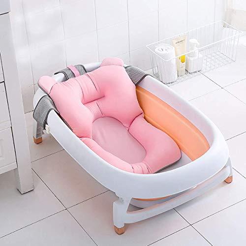 Baby-Badewanne Kissen, Floating Anti-Slip-Bad Kissen weiche Sitzbadewanne Unterstützung für Neugeborene 0-6 Monate