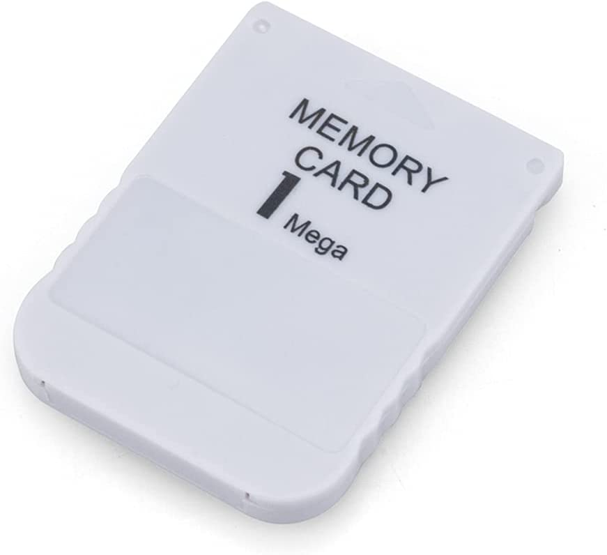 RGEEK 1MB High Speed Game Memory Card Compatible with Sony Playstation 1 PS1 Memory Card
