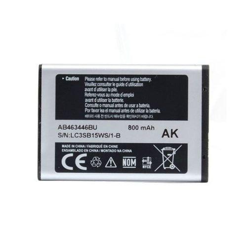 Akku Original Samsung E1080| E1100| E1120| E1150| E1200| E1310| E1360| 2100| GT | Samsung S3030| S3110| SGH-B130| SGH-B520| SGH-C120| SGH-| SGH-C260| SGH-C270800mAh AB463446BU BULK