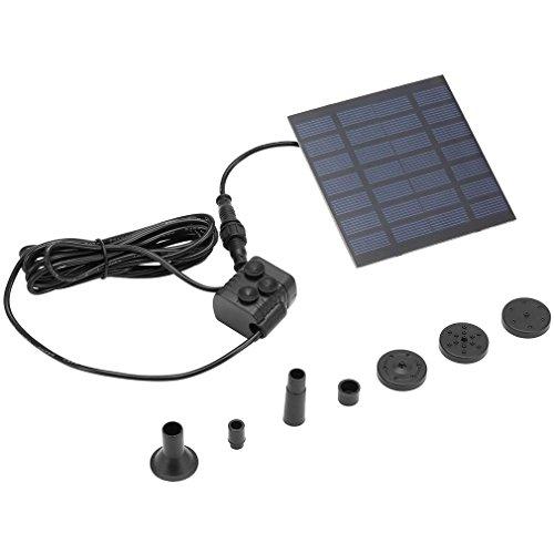 HehiFRlark - Fuente de energía solar, bomba de agua de piscina, jardín,...