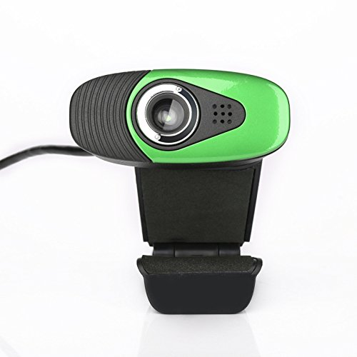TGhosts Webcam 480P, cámara Web PAPALOOK HD de Alta definición con micrófono Incorporado para PC, cámara USB para computadora para chatear en línea de Skype, Compatible con Windows 7/8/10