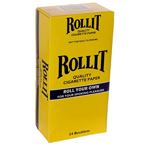 Roll It Quality Cigarette Papers (24 Booklets Of 100 Leaves)