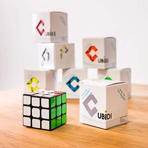3×3 Zauberwürfel – Original Cubixs Speedcube – Typ Los Angeles – mit optimierten Dreheigenschaften für Speed-Cubing - 4