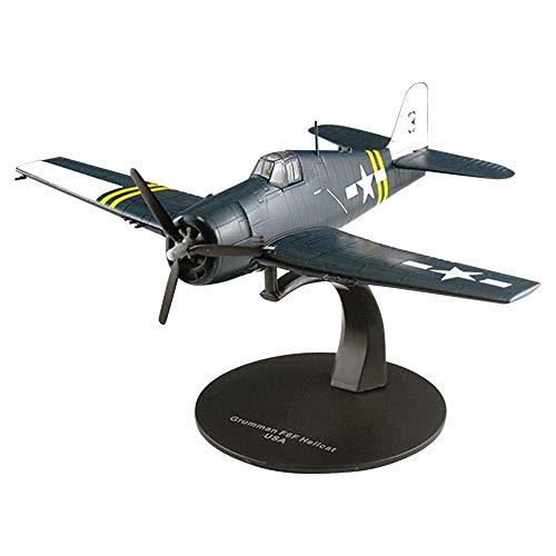 Aereo Die Cast Aircraft  Grumman F6F Hellcat USA 1//72 Metallo