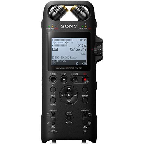 ソニー リニアPCMレコーダー 16GB ハイレゾ録音 / 192KHz 24bit録音 / プリレコーディング機能 デジタルリミッター対応 2019年モデル PCM-D10