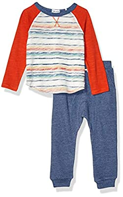 Splendid Boys Long Sleeve Pant Set, All Spice-Toddler, 4T