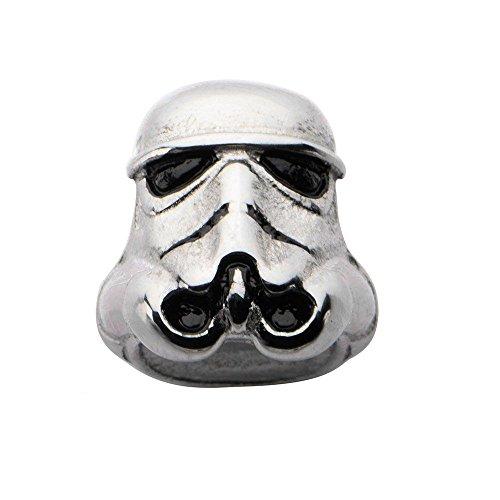 Star Wars Stormtrooper Cuenta para Pulsera de Acero Inoxidable