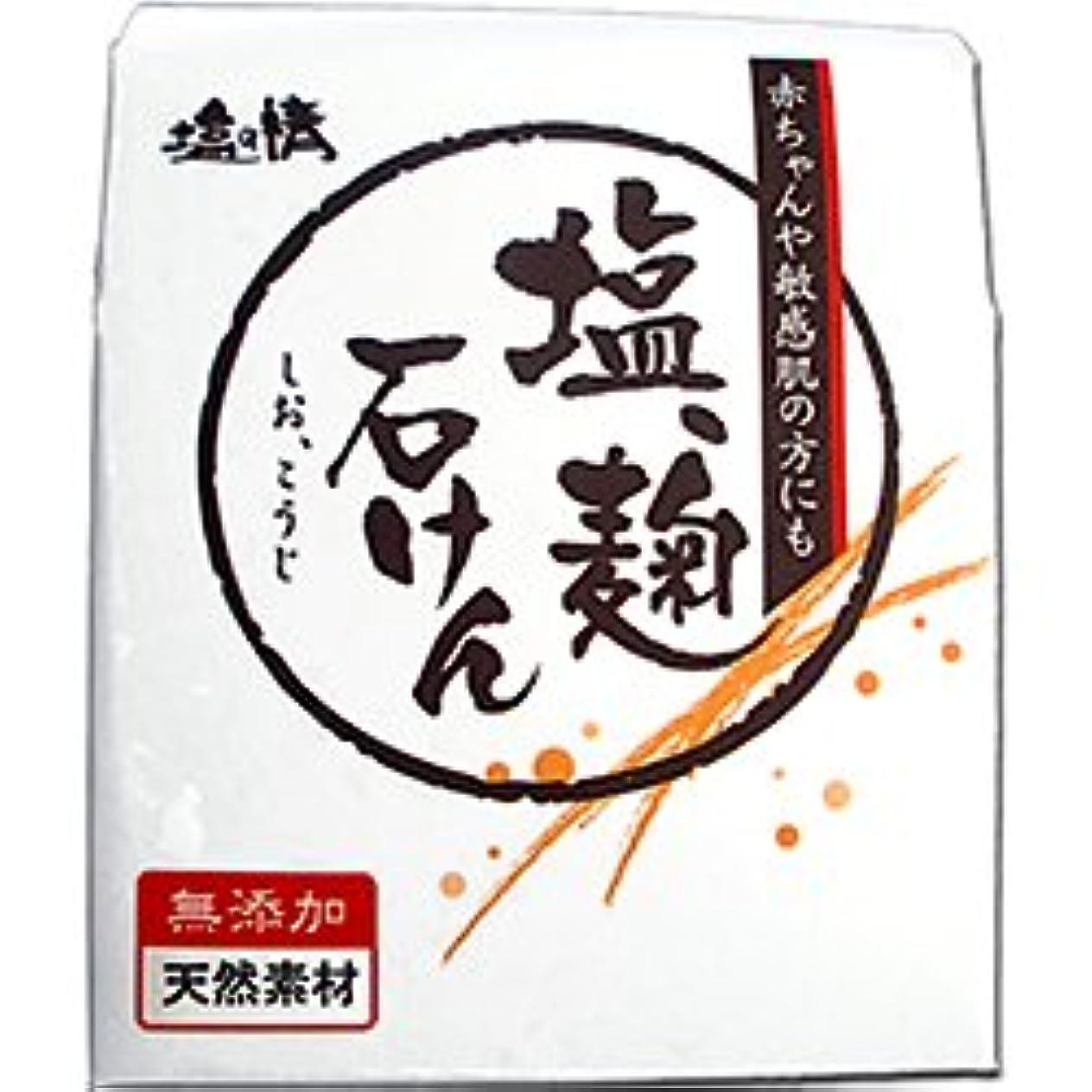 磁気しかしながら落ち着いて【ダイムヘルスケア】塩の精 塩、麹石けん(しお、こうじせっけん) 無添加?天然素材 80g ×20個セット