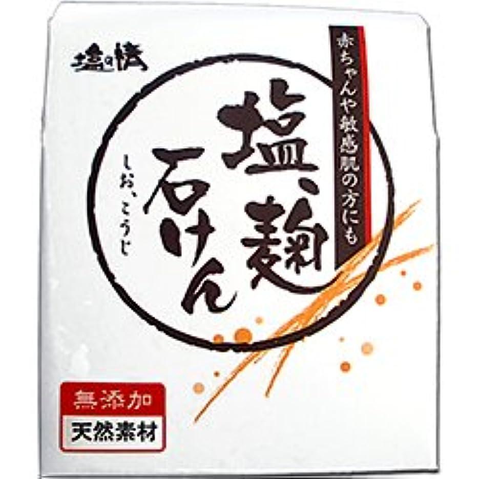 ありがたい獣男らしさ【ダイムヘルスケア】塩の精 塩、麹石けん(しお、こうじせっけん) 無添加?天然素材 80g ×20個セット