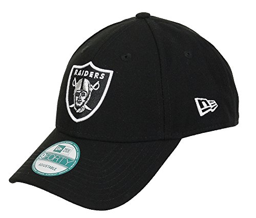 New Era 10517873 The League 9Forty Oakland Raiders Offical Team Colour, Berretto Uomo, Nero, Taglia Unica