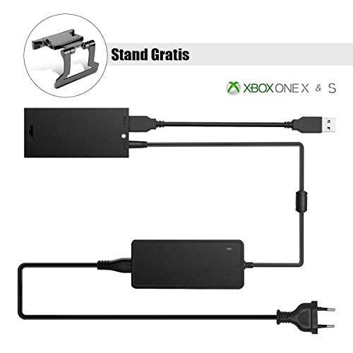 Xbox Kinect Adapter, 6amlifestyle Adaptador para Sensor Kinect 2.0 Xbox One S/X y PC Windows 8/8.1/10 (Soporte Kinect Gratis)