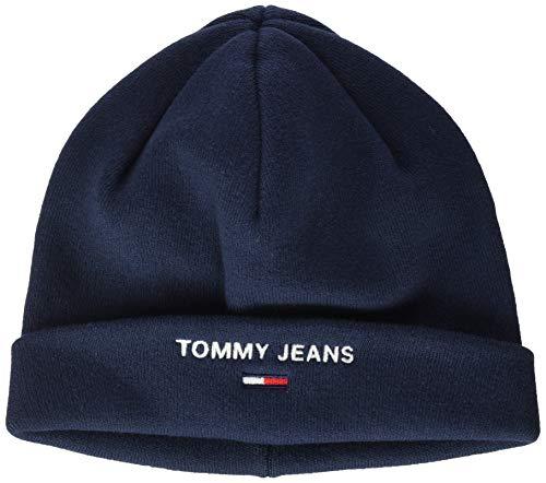 Tommy Jeans Herren TJM Sport Beanie Strickmütze, Blau (Blue Cbk), One size