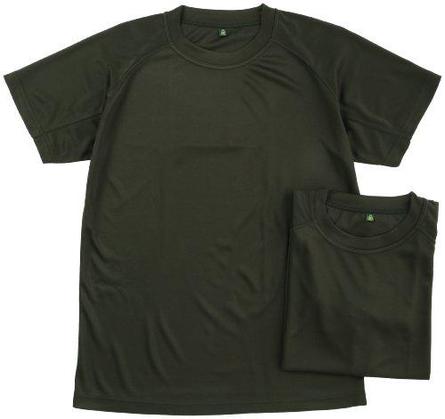 (ジェイジィエスディエフ)J.G.S.D.F クールナイス半袖Tシャツ2枚組(吸汗速乾)【自衛隊衣料】 6525 OD M