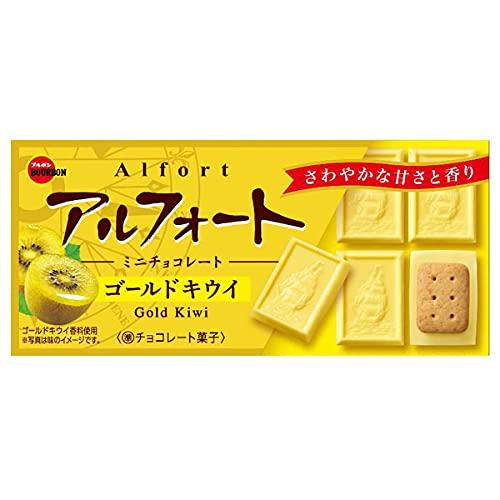 ブルボン アルフォートミニチョコレート ゴールドキウイ 12粒x10箱