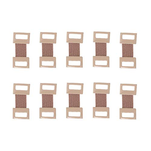 10 Pcs Elastic Bandage Wrap Stretch Metal Clips Replacement Fastener Fixation Clamps Hooks