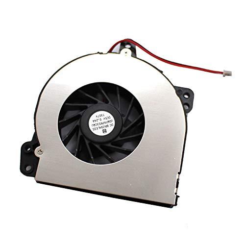 Ventilador de CPU Nuevo ventilador de refrigeración de CPU para computadora portátil Reemplazo para HP Compaq 500510520530 Presario A900 C700 P / N: DFB451005M20T F687-CW SPS-438528-001 AT010000200 KS