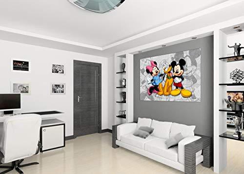 AG Design FTDm 0284 Disney Mickey Mouse, Papier Fototapete Kinderzimmer- 160x115 cm - 1 Teil, Papier, multicolor, 0,1 x 160 x 115 cm