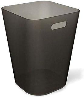 WWWXD Poubelle Poubelle, Garbage Container Bin, avec poignées de Salle de Bains, Cuisine, Bureau, incassable - Plastique /...