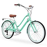 sixthreezero EVRYjourney Women's 26' 7-Speed Step-Through Touring Hybrid Bike w/Integrated Cable...