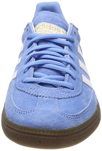 adidas Herren Handball Spezial Gymnastikschuhe Blau (Light Blue/FTWR White/Gum5), 44 EU - 2