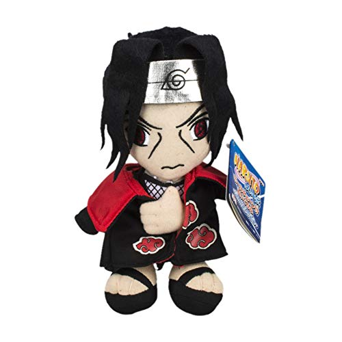 SGOT Naruto Plüsch Puppe, Anime Plüschtier, Deko Plüschtier Super Weich, Geschenk für Fans ca 20cm( Uchiha Itachi)