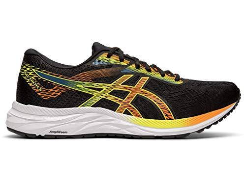 ASICS Men's Gel-Excite 6 Running Shoes, 13M, Black/Shocking Orange