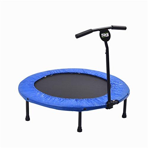 YIOY 40 Pollici Trampolino Fitness Con Maniglia Regolabile T Interno Esagono Aperto Mini Trampolino Per Bambini/Adulti