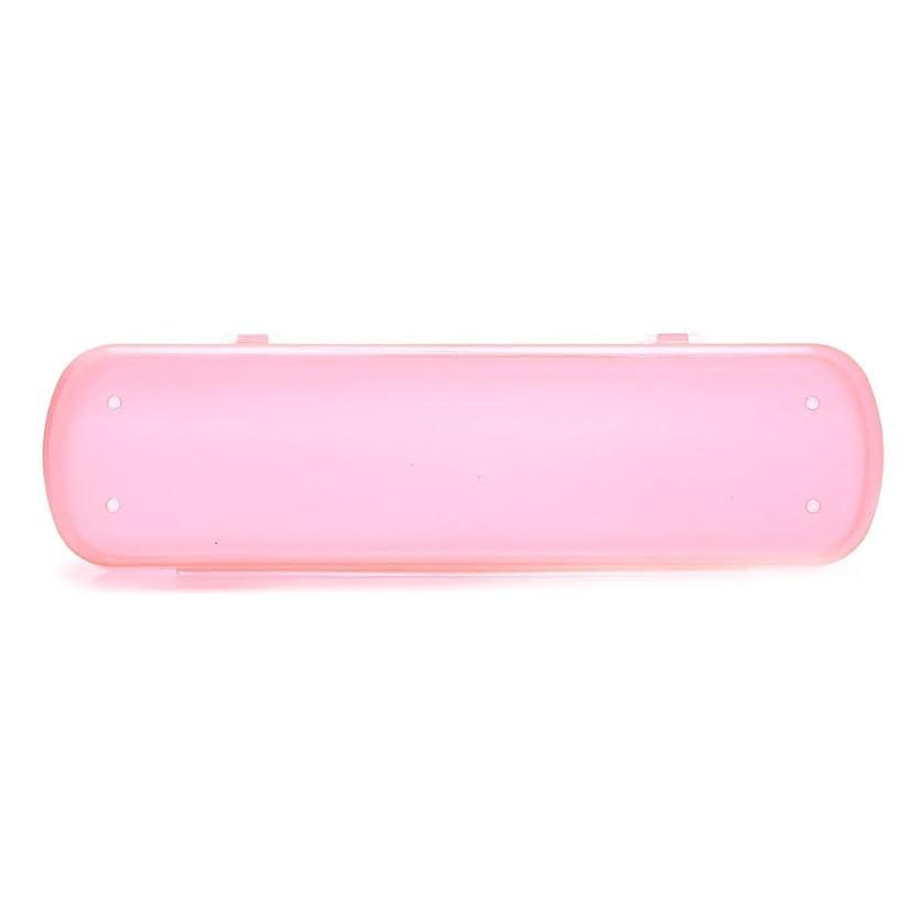 健康的天ブラシsusada旅行歯ブラシケースグリーン健康環境Portative色ストレージバッグ ピンク