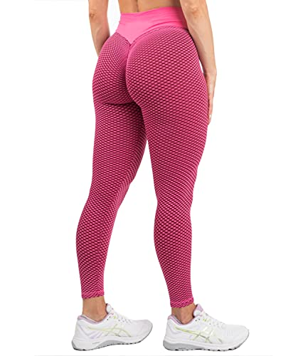 DUROFIT Legging de Sport Femme Push Up Anti Cellulite Pantal
