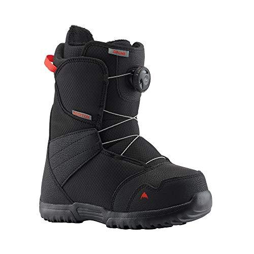 Burton Zipline BOA Snowboard Boots Kid's Sz 6 Black