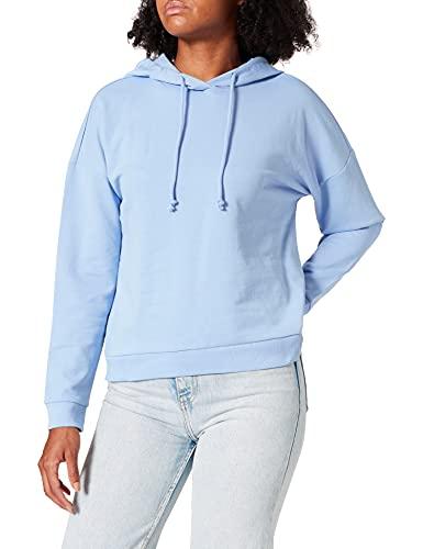 Vero Moda VMOCTAVIA LS Hoodie GA Color Sudadera, Grapemist, XS para Mujer
