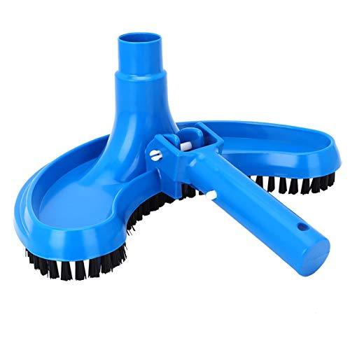 Cepillo de Limpieza, Material de Limpieza, cerdas duras Cómodo de Usar Piscinas Resistentes al Desgaste para el hogar