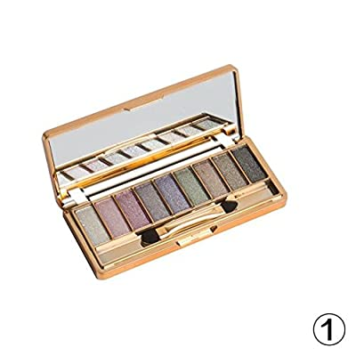 9 Color Nude Eyeshadow Palette-Shimmer Matte Co...
