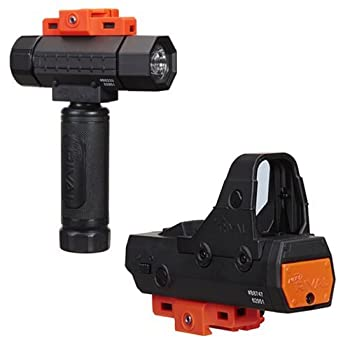 NER Rival Flashlight and NER Rival RED DOT Sight Set of 2