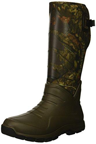 """Lacrosse Men's 340222 AeroHead Sport 16"""" 3.5MM Waterproof Hunting Boot, Mossy Oak Break-Up Country - 10 -  340222-N/A-10 M US"""