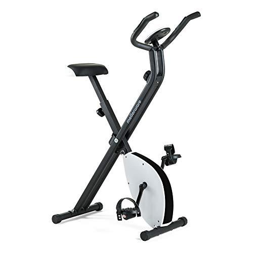 Mellerware - Bicicleta Estatica spinning - Resistencia ajustable con Pantalla LCD y pulsómetro.Sillín y manillar regulables. spinning bike (Loopy)