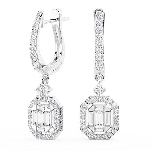 Fine Diamonds R us - Gold 18 Karat (750) 14 Karat (585) Weißgold Round Brilliant & Baguette Feines Weiß +/Top Wesselton (F) Diamant