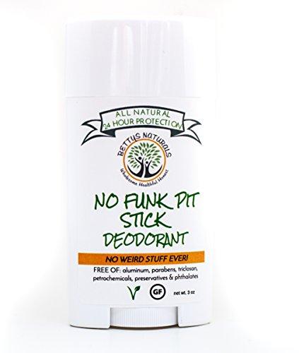 "No Funk Pit Stickâ""¢, Natural Vegan Deodorant, Aluminum Free, Gluten Free"