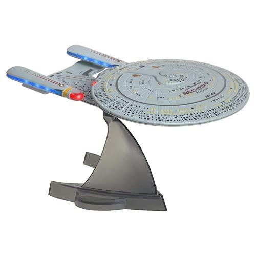 Star Trek U.S.S. Enterprise 1701-D – Enterprise Replica Bluetooth Speaker, Engine Noise Sleep Machine, Night Light, Sound Effects – Memorabilia, Gifts, Gadgets, Collectibles for Star Trek Fans