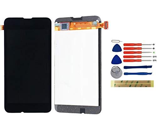 Yixi Display für Nokia Lumia 530 RM-1018 Display Ersatzdisplay Schwarz LCD Touchscreen Bildschirm Ersatzteile No Rahmen