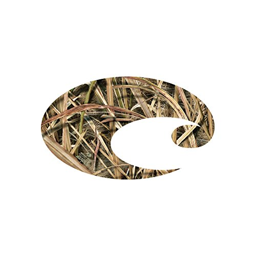 Costa C Decal Large, Mossy Oak Shadow Grass Blades