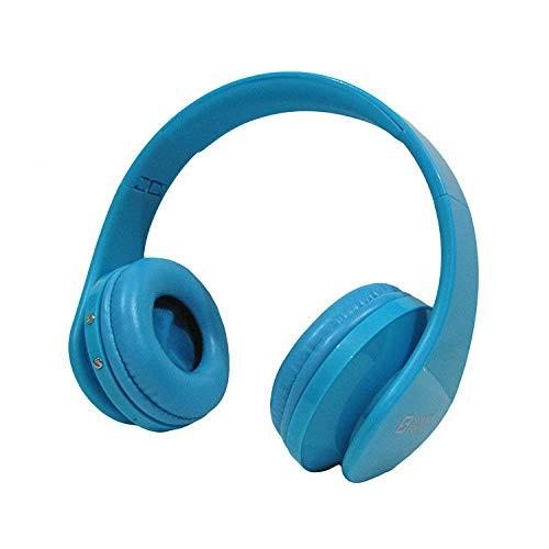 Auricular Bluetooth MP3 Radio Wireless Estéreo Accesorios de Ordenador Auricular Auriculares Bluetooth: Version 4.0 + EDR azul